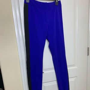 Nipsey blue and black ankle pants